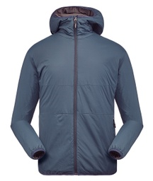[152.2.1] Men Pinneco Insulation Jacket with hood (Small, Storm Blue)