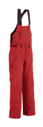 [238.20.1] Women 3 Layer Dermizax Shell (Bib-) Pant (Xsmall, Swiss Red)